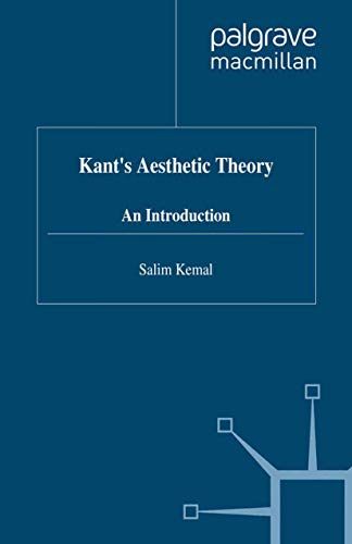 9780333629956: Kant's Aesthetic Theory: An Introduction