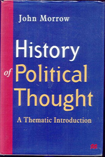 9780333632208: History of Political Thought: A Thematic Introduction