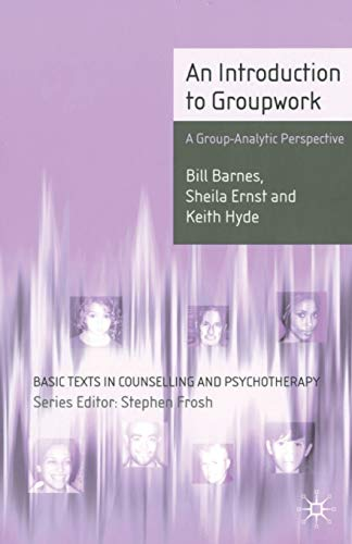 9780333632246: An Introduction to Groupwork: A Group-analytic Perspective