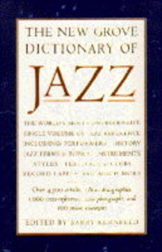 9780333632314: The New Grove Dictionary of Jazz