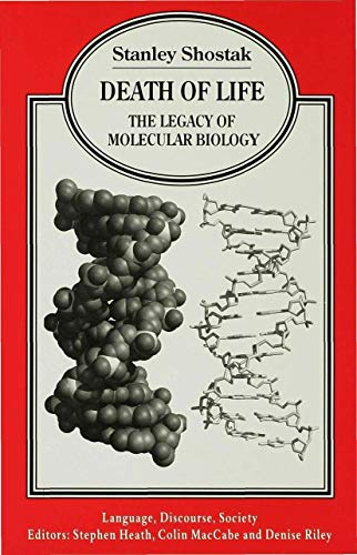 9780333633205: Death of Life: The Legacy of Molecular Biology (Language, Discourse, Society)