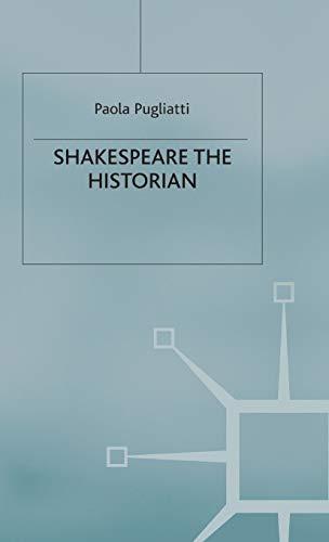 9780333633298: Shakespeare the Historian