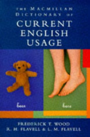 9780333634103: Macmillan Dictionary of Current English Usage