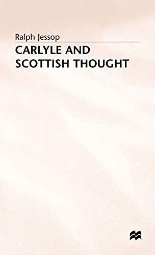 9780333634288: Carlyle and Scottish Thought