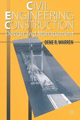 9780333636824: Civil Engineering Construction Design and Management
