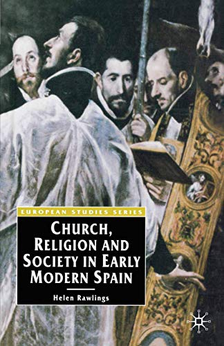 9780333636947: Church, Religion and Society in Early Modern Spain (European Studies Series)