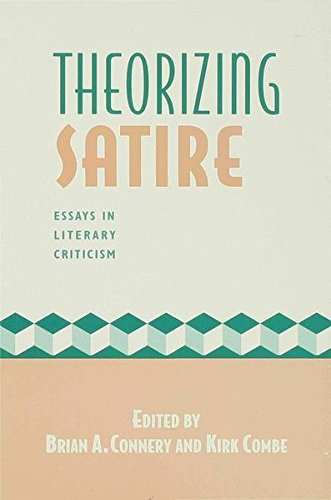 9780333637036: Theorizing Satire: Essays in Literary Criticism: Essays in Criticism and Theory