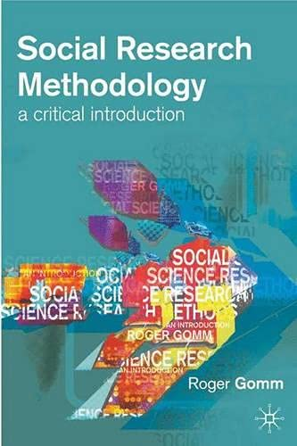 9780333637289: Social Research Methodology: A Critical Introduction (Methods and Principles in Medicinal Chemistry)