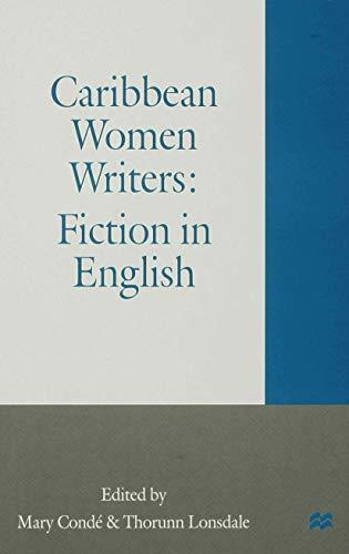 9780333637685: Caribbean Women Writers: Fiction in English