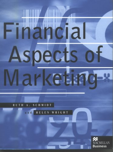 9780333637814: Financial Aspects of Marketing