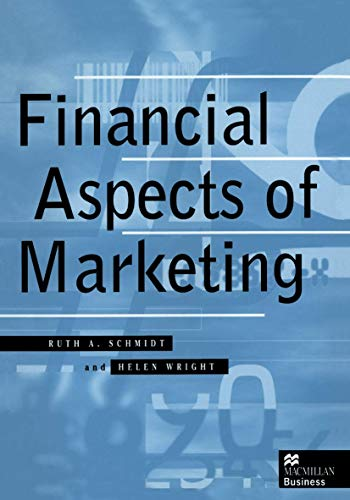 9780333637821: Financial Aspects of Marketing (Macmillan Business)