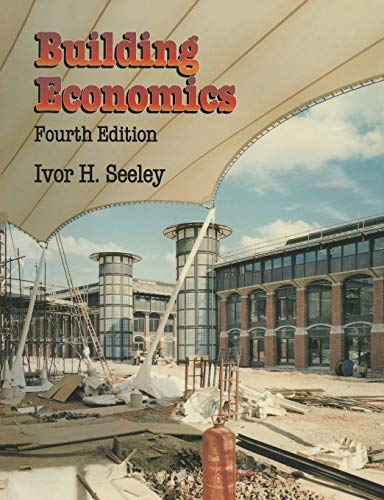 9780333638354: Building Economics: Appraisal and control of building design cost and efficiency (Building and Surveying Series)