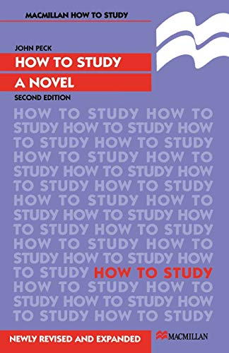 9780333639948: How to Study a Novel (Palgrave Study Guides:Literature)
