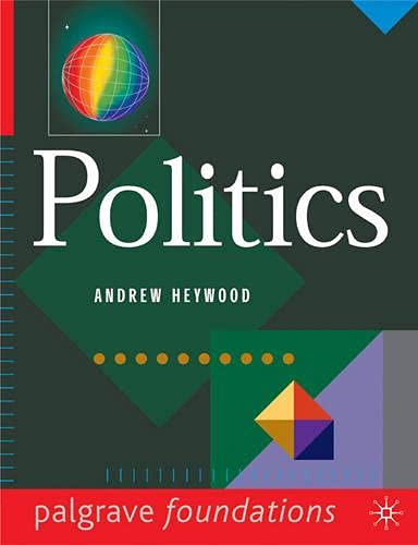 9780333645109: Politics (Palgrave Foundations Series)