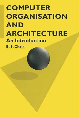 9780333645512: Computer Organisation and Architecture: An Introduction (Computer Science)