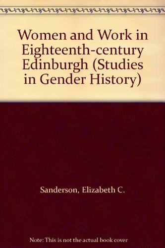 9780333645581: Women and Work in Eighteenth-century Edinburgh