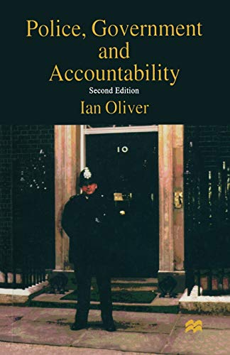 9780333647073: Police, Government and Accountability