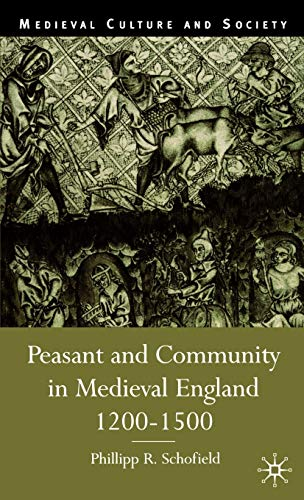 9780333647103: Peasant and Community in Medieval England, 1200-1500