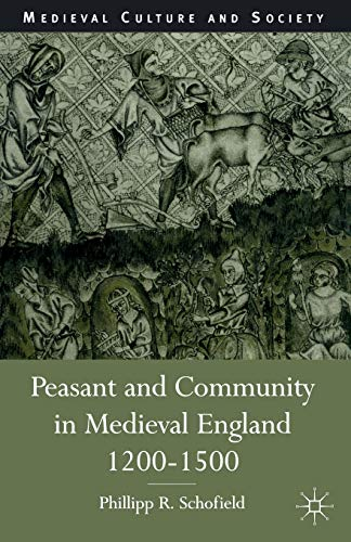 9780333647110: Peasant and Community in Medieval England, 1200-1500