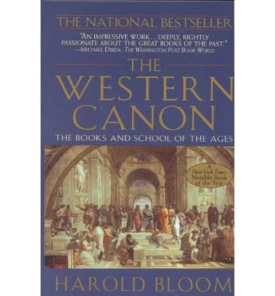 9780333648131: The Western canon: the books and school of the ages