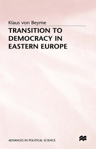 9780333652497: Transition to Democracy in Eastern Europe (Advances in Political Science)