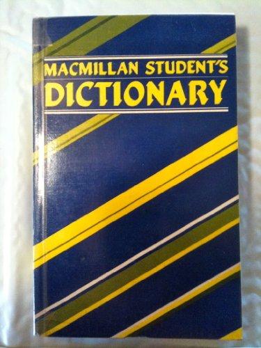 9780333654194: Macmillan Student's Dictionary