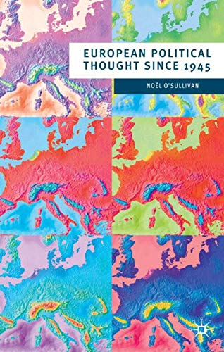 9780333655603: European Political Thought since 1945 (European Culture and Society)