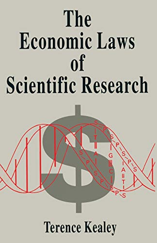 9780333657553: The Economic Laws of Scientific Research