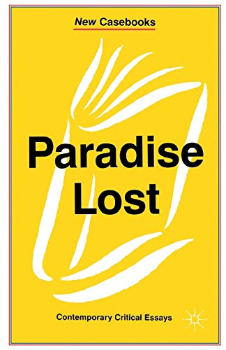 9780333657690: Paradise Lost (New Casebooks)
