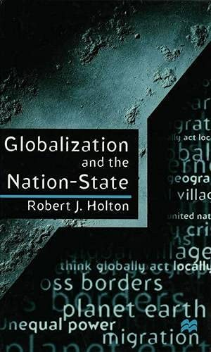 9780333657836: Globalization and the Nation-State