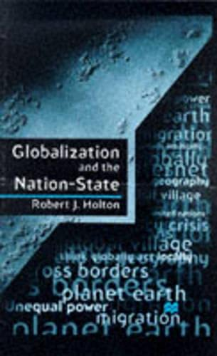 9780333657843: Globalization and the Nation-State