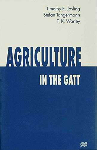9780333658192: Agriculture in the Gatt