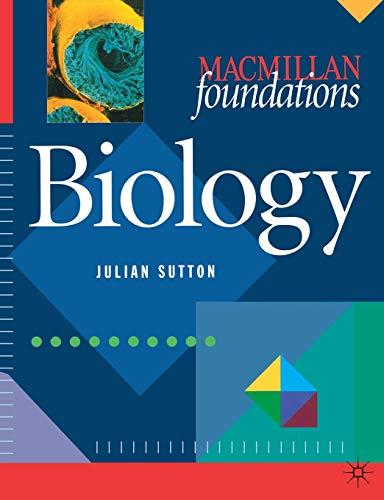9780333658604: Biology (Palgrave Foundations Series)