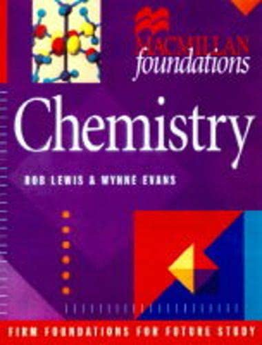 Chemistry (Palgrave Foundations Series): Lewis, Rob, Evans,