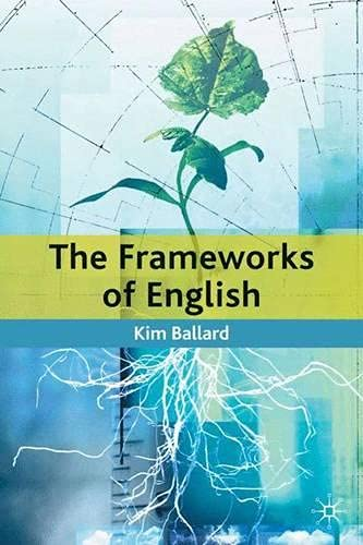 9780333659137: The Frameworks of English: Introducing Language Structures