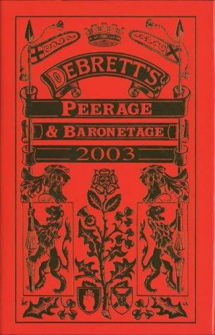9780333660935: Debrett's Peerage and Baronetage