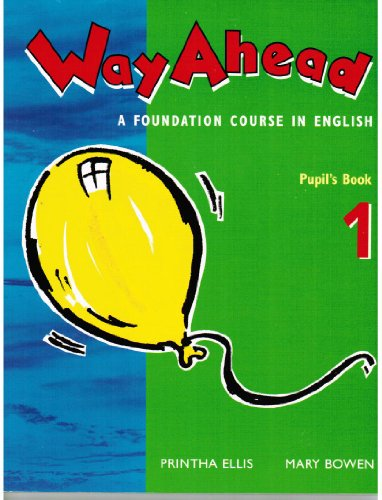 9780333661482: Way ahead: Pupil's Book 1: A Foundation Course in English