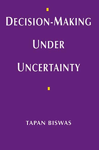 9780333662618: Decision-Making under Uncertainty