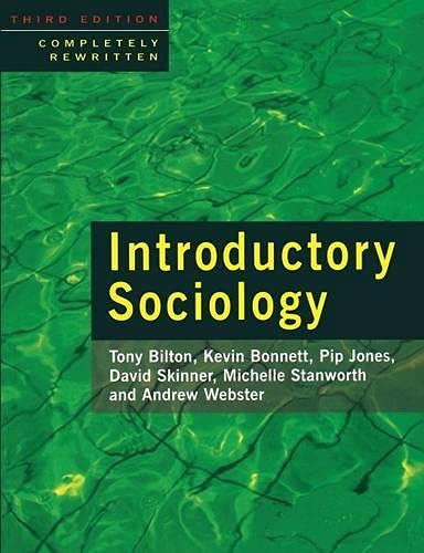 9780333665114: Introductory Sociology
