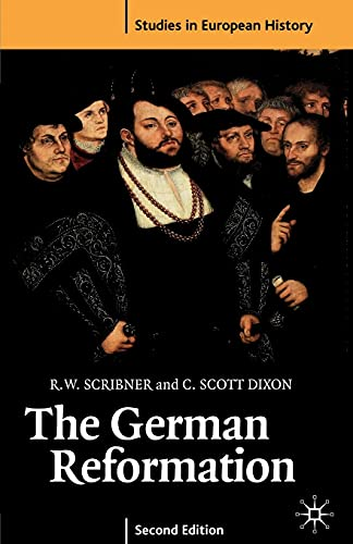 9780333665282: The German Reformation, Second Edition (Studies in European History)
