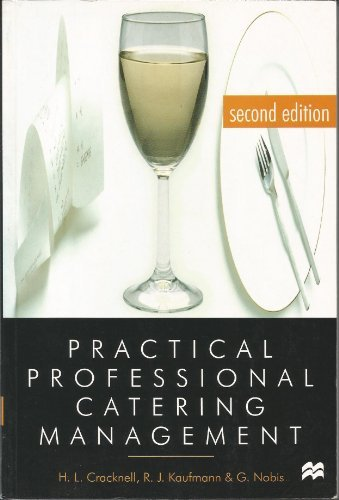 9780333665558: Practical Professional Catering Management