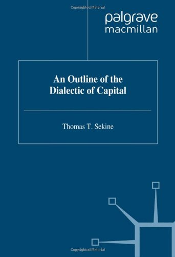 9780333666777: An Outline of the Dialectic of Capital: v. 1