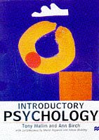 9780333668528: Introductory Psychology