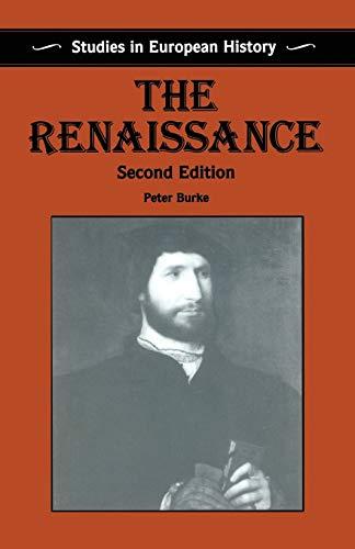 9780333669273: The Renaissance (Studies in European History)