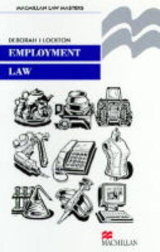 9780333670972: Employment Law (Palgrave Law Masters)
