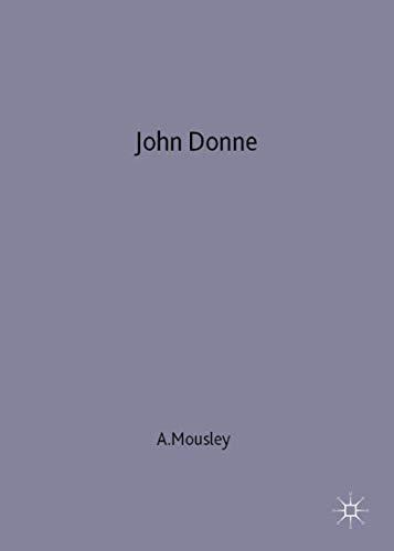 9780333671894: John Donne (New Casebooks)