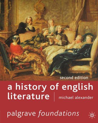 9780333672266: A History of English Literature