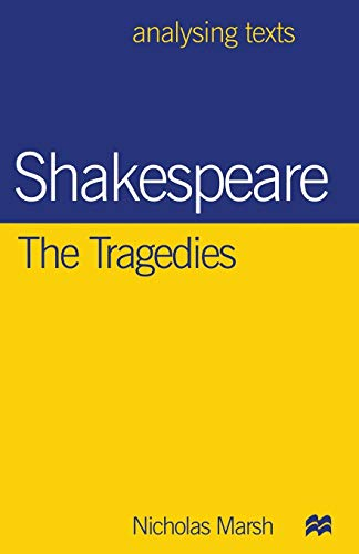 9780333674062: Shakespeare: The Tragedies (Analysing Texts)