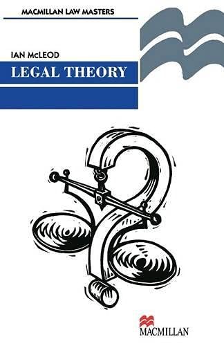 9780333674901: Legal Theory (Palgrave Law Masters)