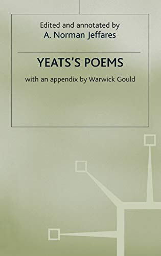 9780333675175: Yeats's Poems